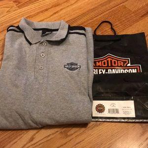 Harley Davidson men's buttons sweatshirt